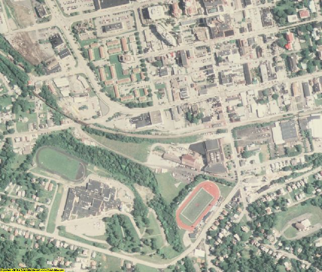 Washington County, PA aerial photography detail