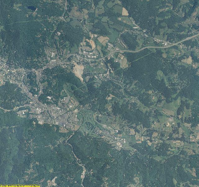 Watauga County, North Carolina aerial photography