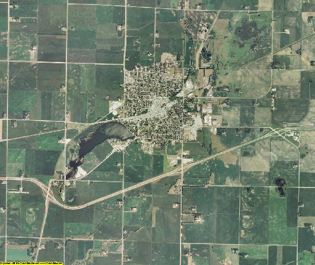 Watonwan County, Minnesota aerial photography