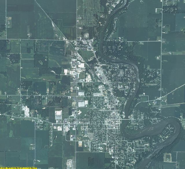 White County, Indiana aerial photography