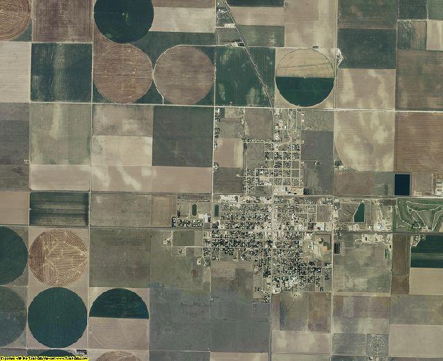 Wichita County, Kansas aerial photography