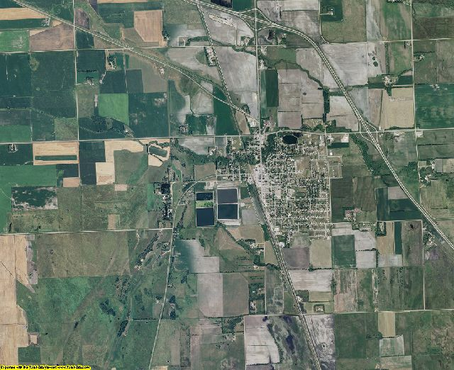 Wilkin County, Minnesota aerial photography