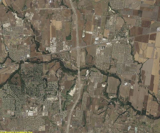 Williamson County, Texas aerial photography