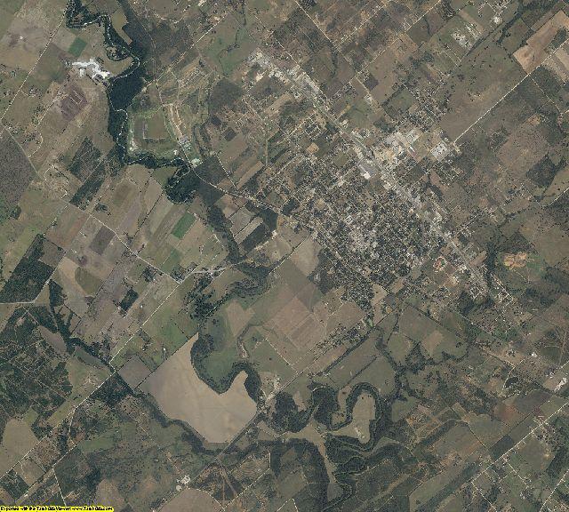 Wilson County, Texas aerial photography