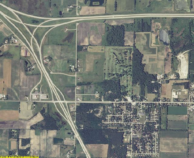 Winnebago County, Wisconsin aerial photography