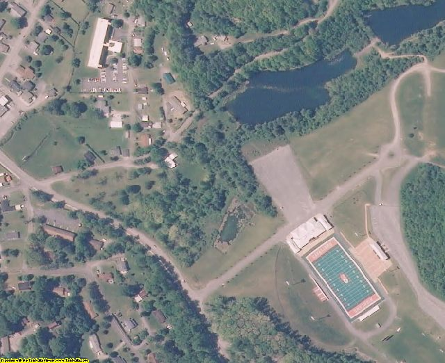 Wise County, VA aerial photography detail
