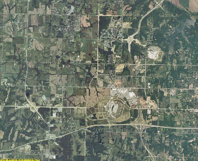 Wyandotte County, Kansas aerial photography