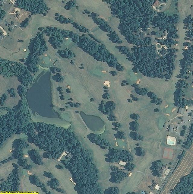 Yadkin County, NC aerial photography detail