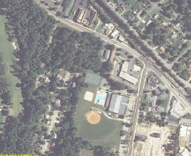 York County, VA aerial photography detail