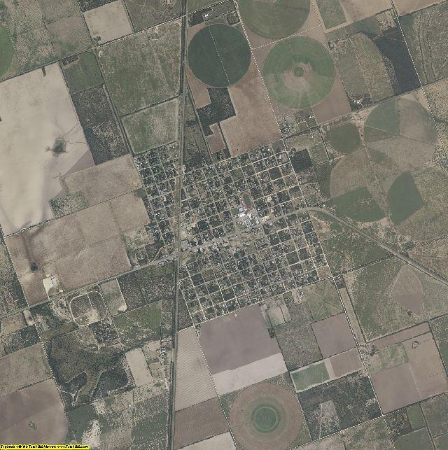 Zavala County, Texas aerial photography