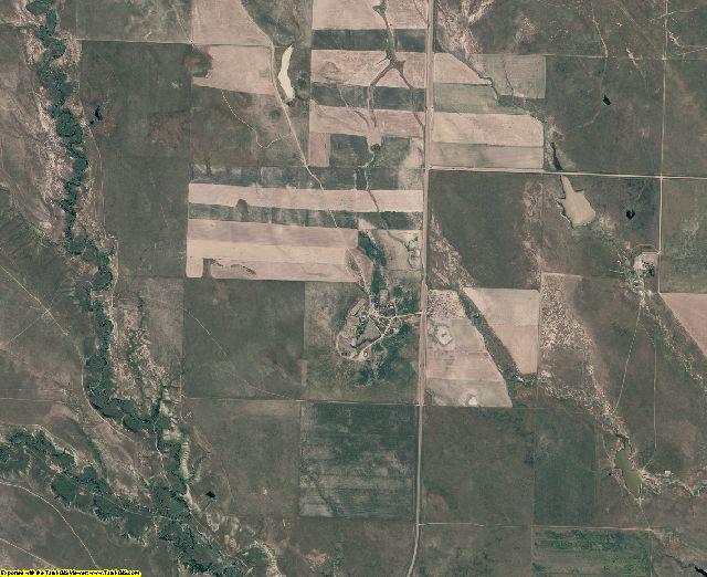 Ziebach County, South Dakota aerial photography