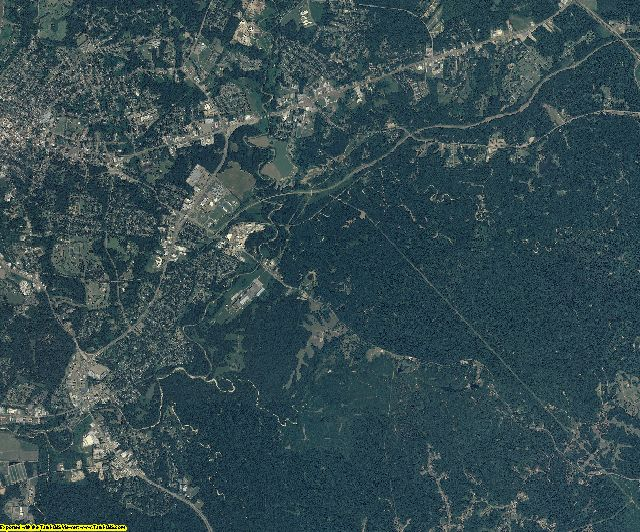 Adams County, Mississippi aerial photography