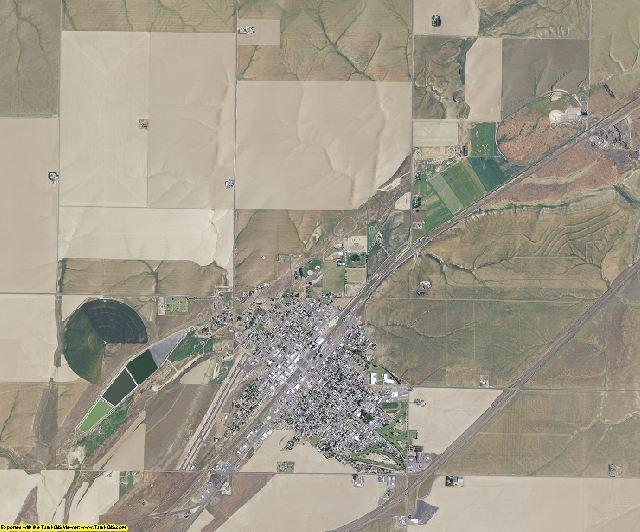 Adams County, Washington aerial photography