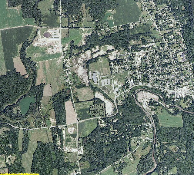 Addison County, Vermont aerial photography