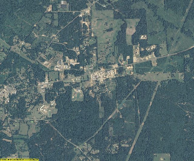 Amite County, Mississippi aerial photography