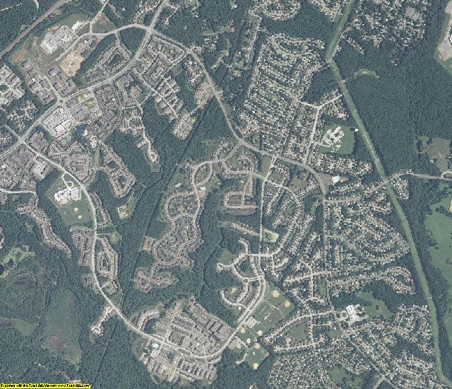 Anne Arundel County, Maryland aerial photography