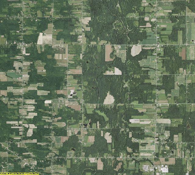 Ashtabula County, Ohio aerial photography