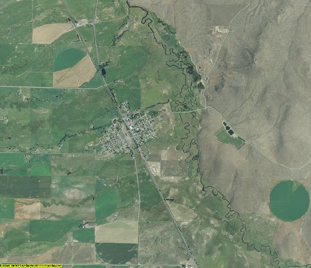 Baker County, Oregon aerial photography