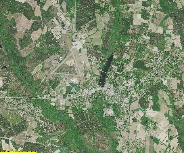 Barnwell County, South Carolina aerial photography