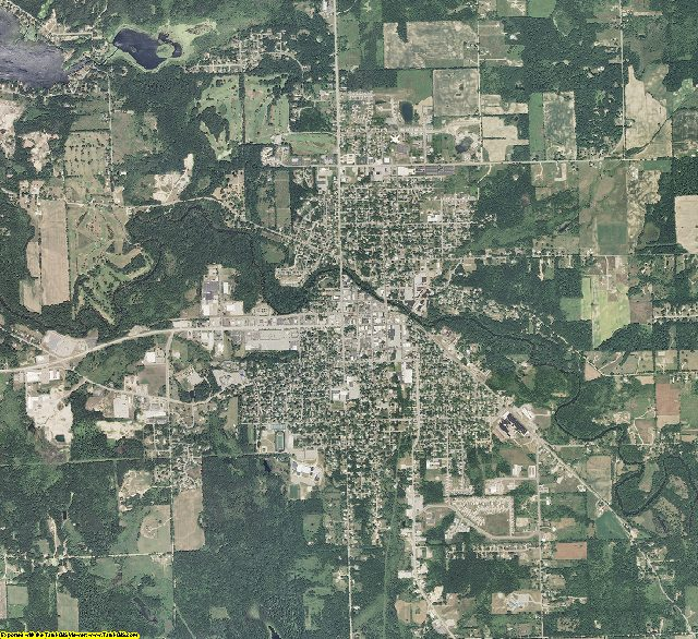 Barry County, Michigan aerial photography