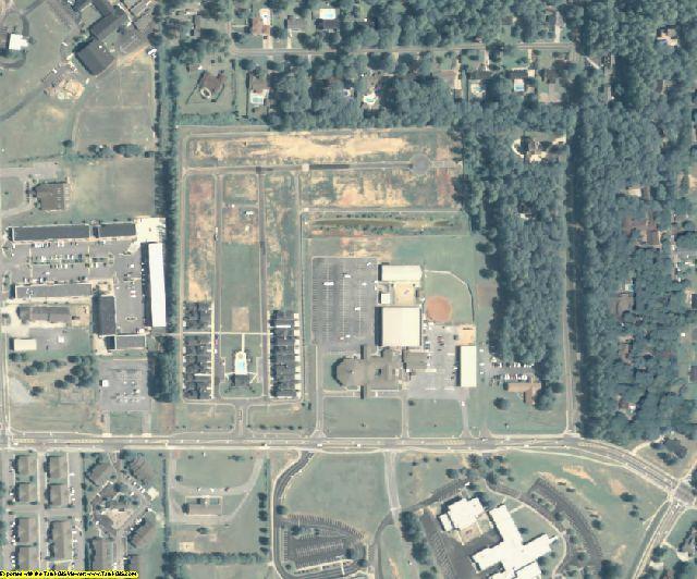 Bartow County, GA aerial photography detail