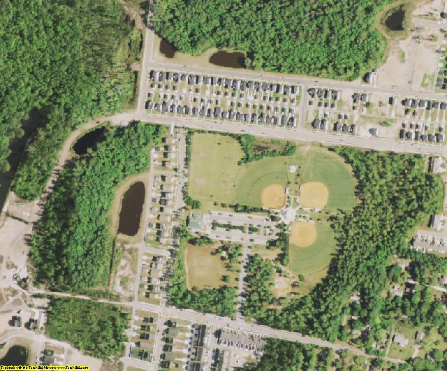 Beaufort County, SC aerial photography detail