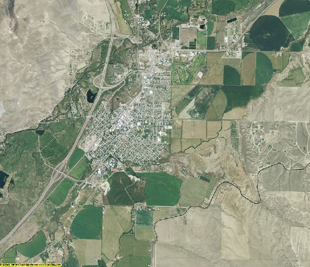 Beaverhead County, Montana aerial photography