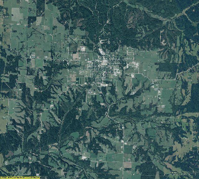 Benton County, Arkansas aerial photography