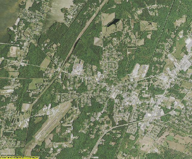 Berkeley County, South Carolina aerial photography