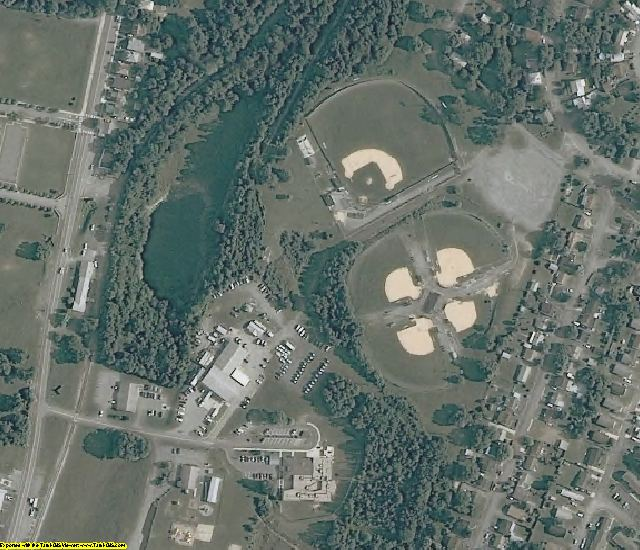 Berkeley County, WV aerial photography detail