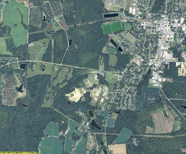 Berrien County, Georgia aerial photography