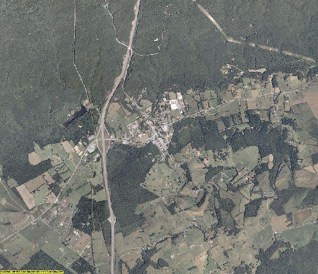 Bland County, Virginia aerial photography
