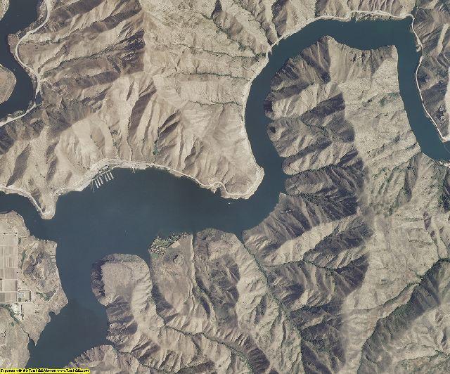 Boise County, Idaho aerial photography