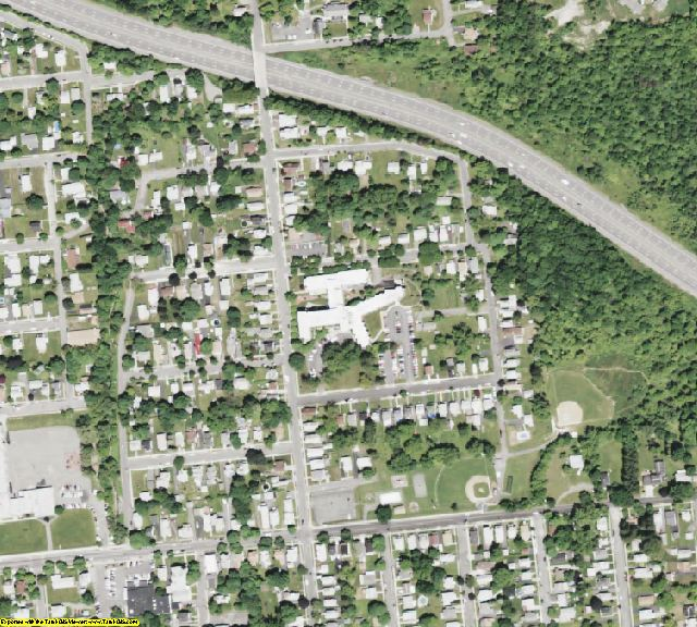 Broome County, NY aerial photography detail