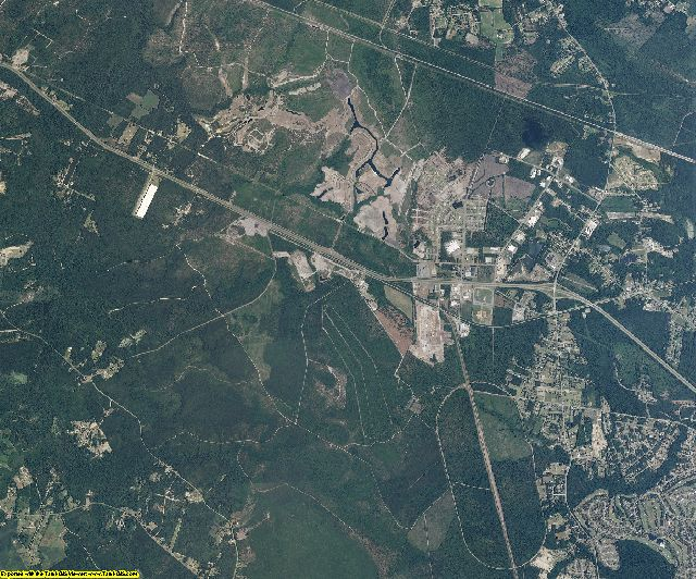 Brunswick County, North Carolina aerial photography