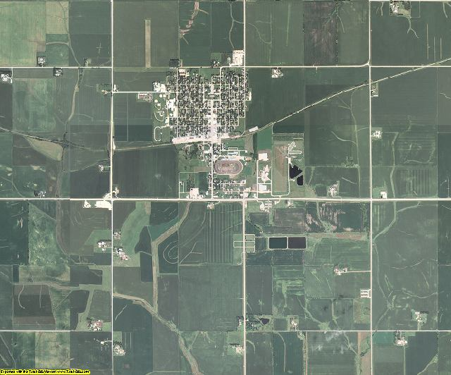 Butler County, Iowa aerial photography