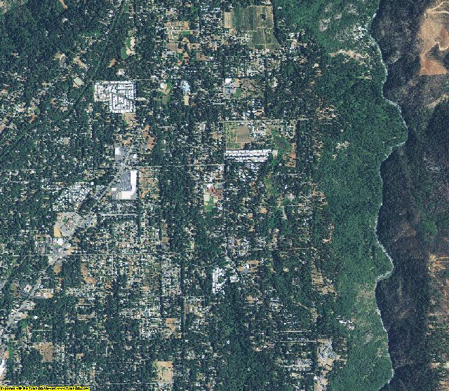 Butte County, California aerial photography