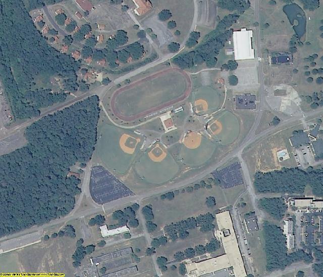 Calhoun County, AL aerial photography detail