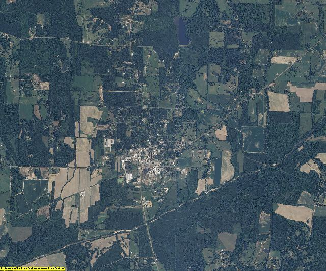 Mississippi aerial photography