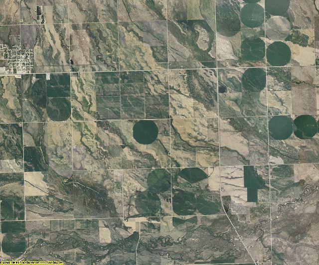Camas County, Idaho aerial photography