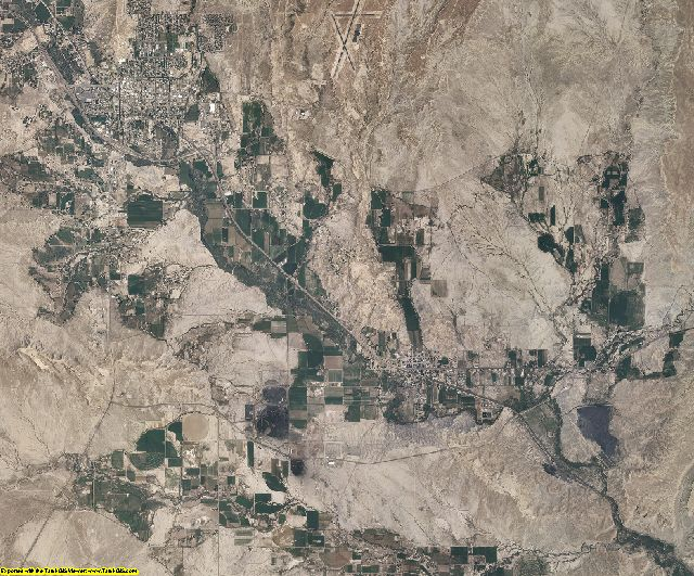 Carbon County, Utah aerial photography
