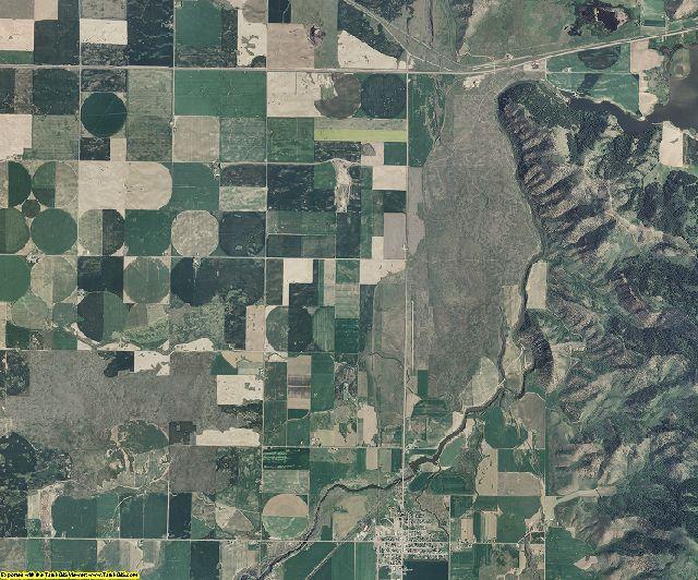 Caribou County, Idaho aerial photography