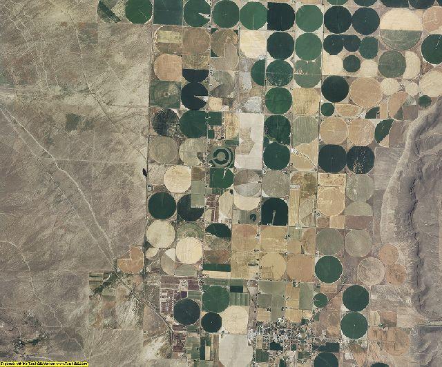 Cassia County, Idaho aerial photography