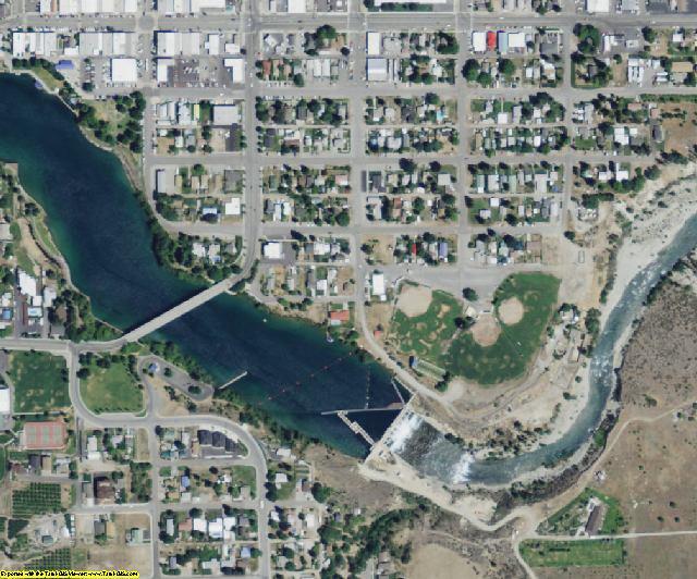 Chelan County, WA aerial photography detail