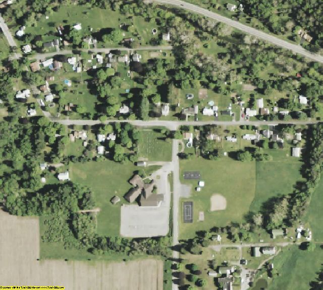 Chemung County, NY aerial photography detail