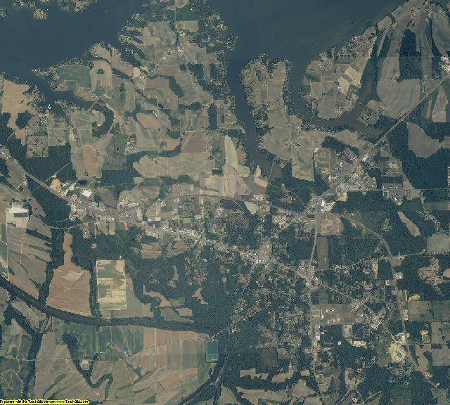 Cherokee County, Alabama aerial photography