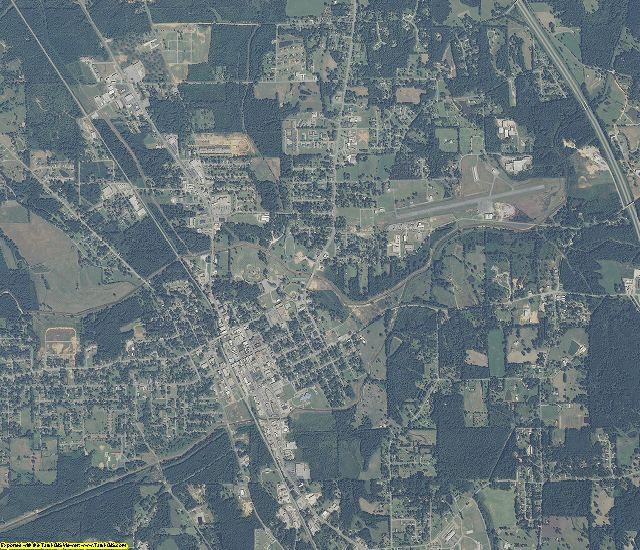 Chilton County, Alabama aerial photography