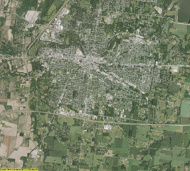 Clark County, Ohio aerial photography