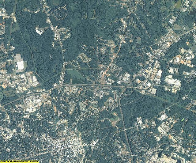 Clarke County, Georgia aerial photography