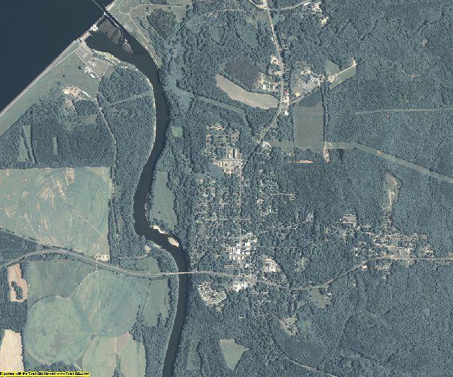 Clay County, Georgia aerial photography